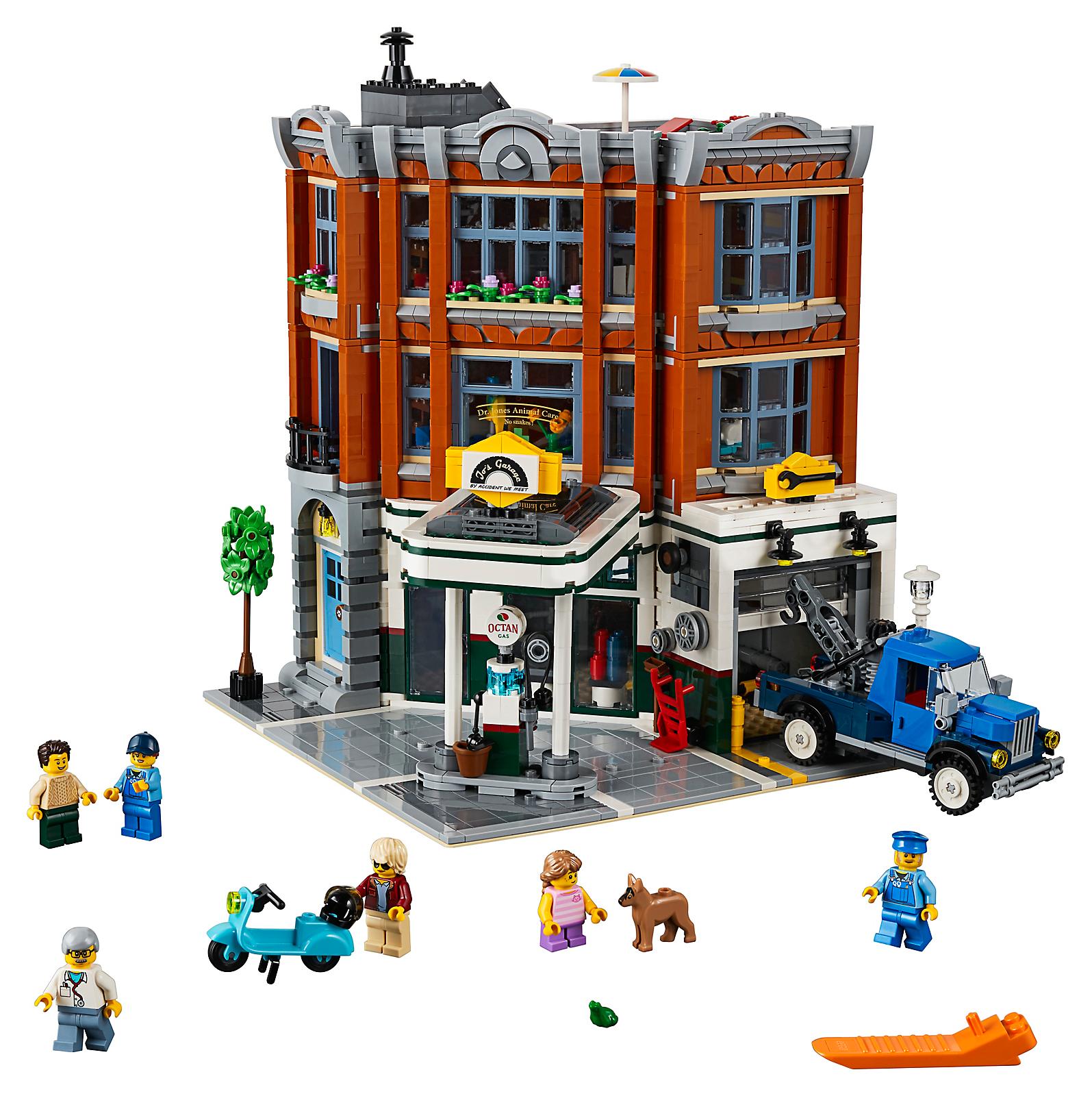 Další Přírůstek Mezi Modulární Domy Lego Creator Expert Rohová